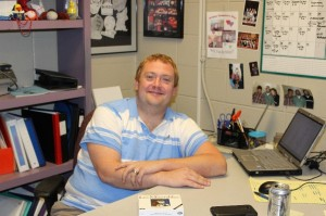"Mr. Nate Pucke, MND Theater Director, first stepped onto a stage at age 8. At the age of only 31, Mr. Pucke has directed 63 shows at MND in 10 years - 67 shows after this school year. Mr. Pucke says, ""My favorite part about theater is that everyone in theater is a community – that's what makes each show so meaningful."""