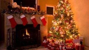 """At senior Meredith Shaffer's house, her family set up a Christmas tree with gifts gathered around. She has believed that Christmas becomes more commercialized with each coming year. """"Christmas is all about gifts and getting what you want,"""" said Shaffer."""