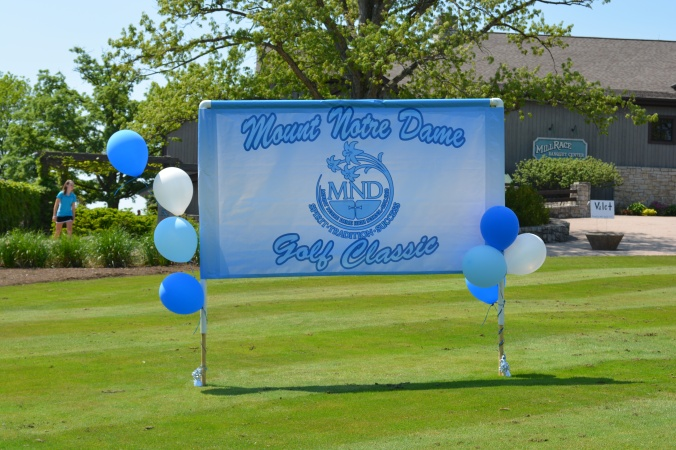 Today, May 8, MND holds their annual Golf Outing at the Mill Course. Over 100 golfers and many spectators and volunteers showed up ready for a day of fun in the sun.
